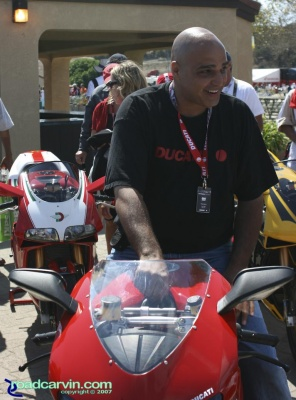 Louis Saif Ducati 1098 Winner: 2007 Ducati Superbike Concorso winner Louis Saif from New York won the Grand Prize a Ducati 1098.